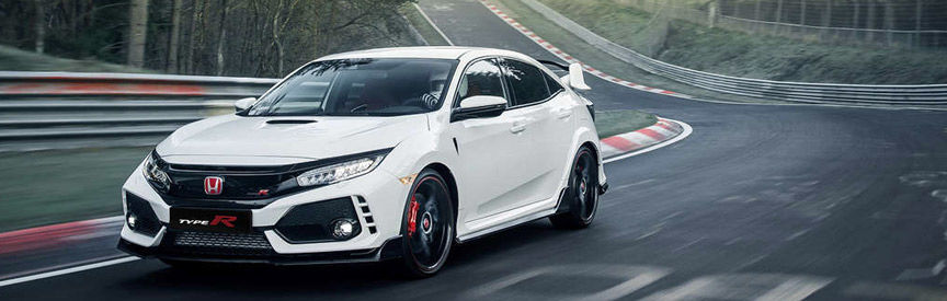 Civic Type R sur circuit