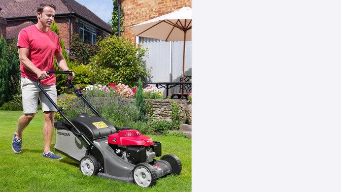 aper u hrx tondeuses gazon pelouse et jardin honda. Black Bedroom Furniture Sets. Home Design Ideas