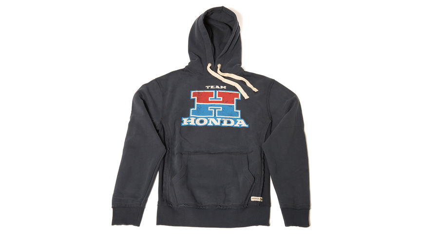 Sweat à capuche Team Honda
