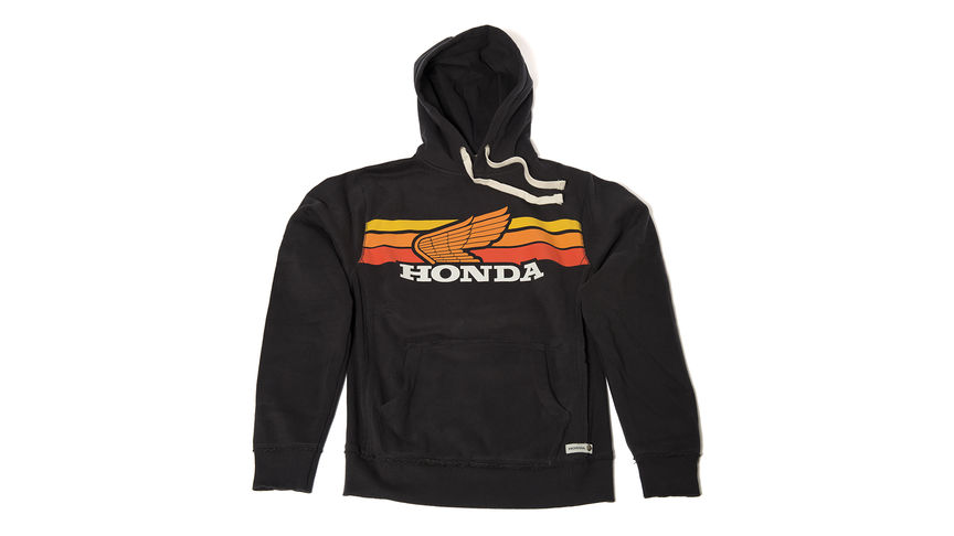 Sweat à capuche Honda Sunset
